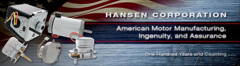 Hansen Damper Actuators - Precision Electric Motors, DC Motors
