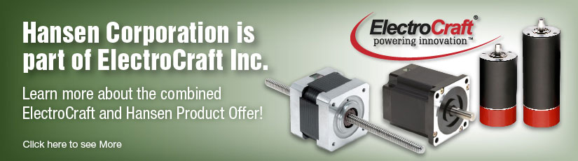 electrocraft products banner precision electric motors, dc motors hansen motors brook hansen motor wiring diagram at fashall.co