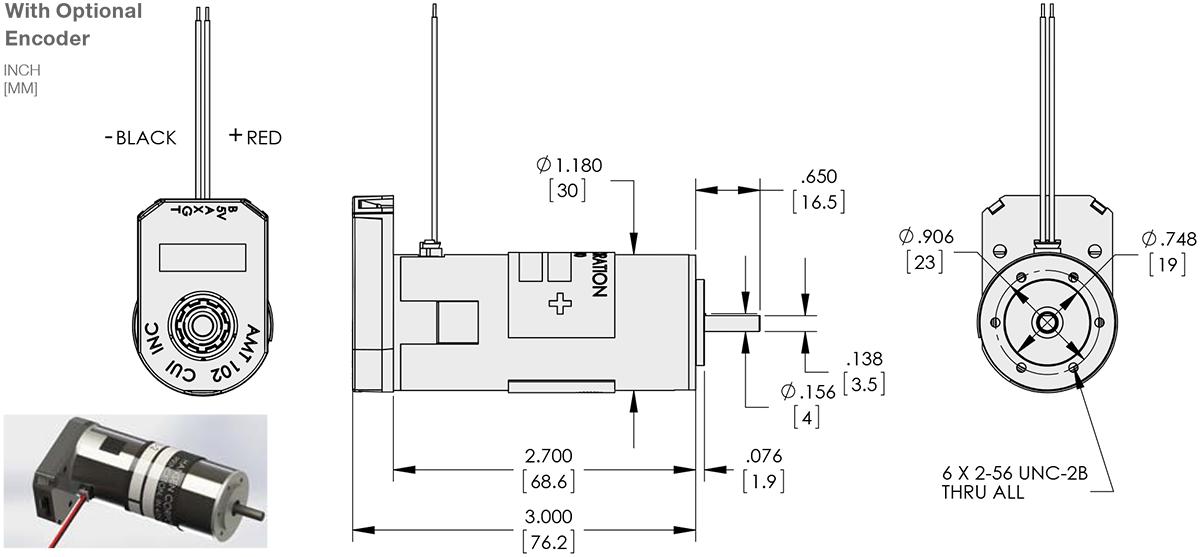 Brush Motor Diagram