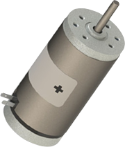 Series 116-1 1.6in DC Motor