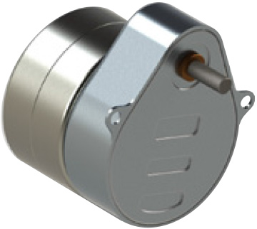 Series 119-3 Size 19 Geared Step Motor pear shaped gearbox