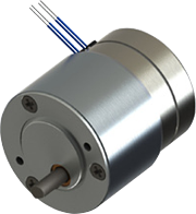 Series 119-4 Size 19 Step Gear Motor 2in gearbox